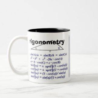 Trigonometry  Rev B Two-Tone Coffee Mug