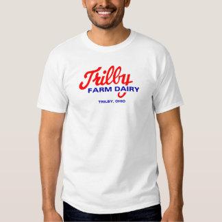 Trilby Farm Dairy Toledo Ohio logo T Shirts
