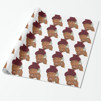 Trill hustler wrapping paper
