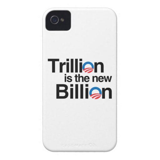 TRILLION IS THE NEW BILLION Case-Mate BLACKBERRY CASE