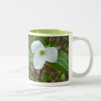 Trillium-Emblem of Ontario Two-Tone Coffee Mug