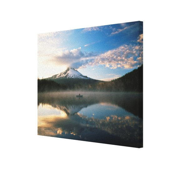 Trillium Lake | Mount Hood National Forest, OR Canvas Print