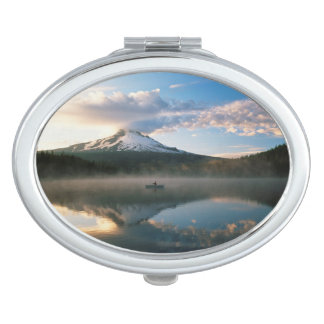 Trillium Lake | Mount Hood National Forest, OR Compact Mirror