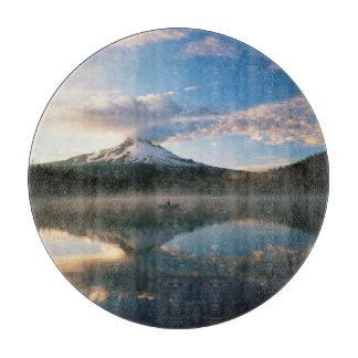 Trillium Lake | Mount Hood National Forest, OR Cutting Board