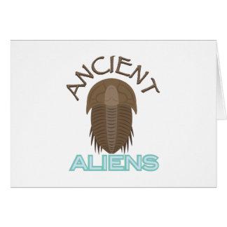 Trilobite Ancient Aliens Card