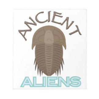 Trilobite Ancient Aliens Notepads