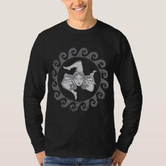 Trinacria Grey shirt