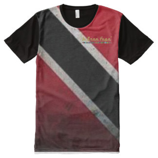 Trinbago T&T All Over Print T-Shirt