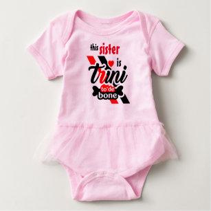 Trini 2 de bone (Sister) Baby Bodysuit