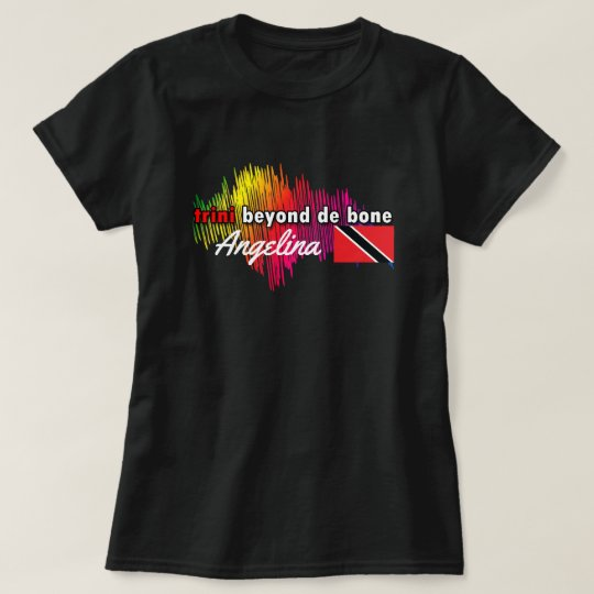 trini beyond de bone ladies top (cust.)