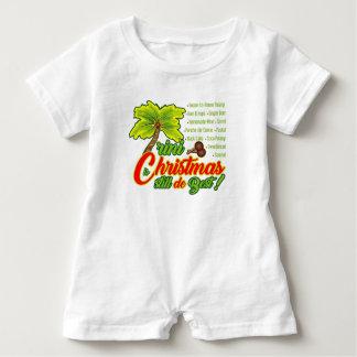 Trini Christmas-Baby Romper
