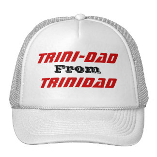 Trini-dad from trinidad trucker hat