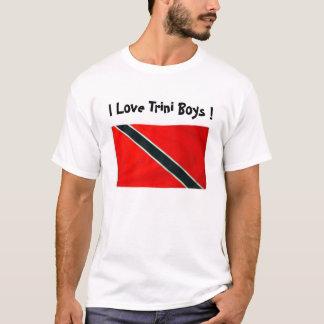 TRINI FLAG, I Love Trini Boys ! T-Shirt