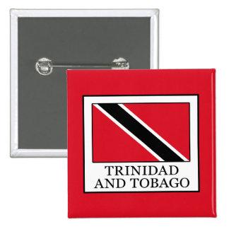 Trinidad and Tobago 2 Inch Square Button