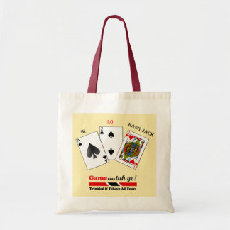 Trinidad and Tobago All Fours Game Budget Tote Bag