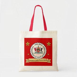 Trinidad and Tobago Anniversary Design Coat Of Arm Budget Tote Bag