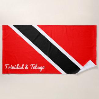 Trinidad and Tobago Beach Towel