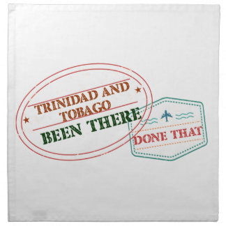Trinidad and Tobago Been There Done That Napkin