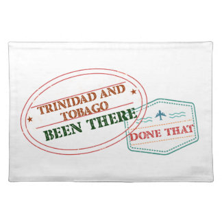 Trinidad and Tobago Been There Done That Placemat