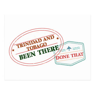 Trinidad and Tobago Been There Done That Postcard