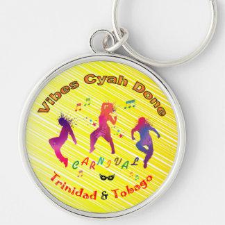Trinidad and Tobago Carnival Keychain