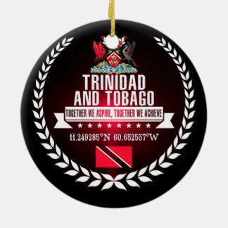 Trinidad and Tobago Ceramic Ornament