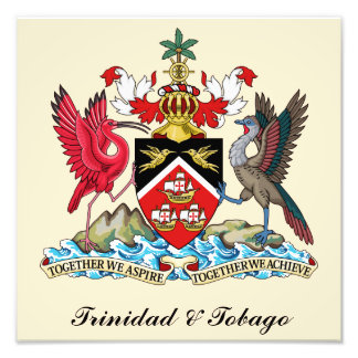 Trinidad and Tobago Coat Of Arms Photo Print