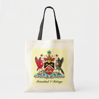 Trinidad and Tobago Coat Of Arms Tote Bag