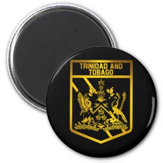 Trinidad and Tobago Emblem 2 Inch Round Magnet