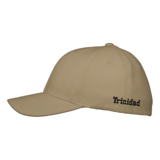 Trinidad and Tobago Embroidered Hat