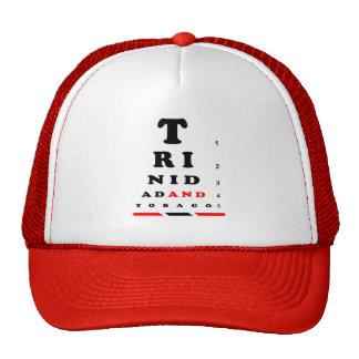 Trinidad and Tobago Eye Chart Trucker Hat