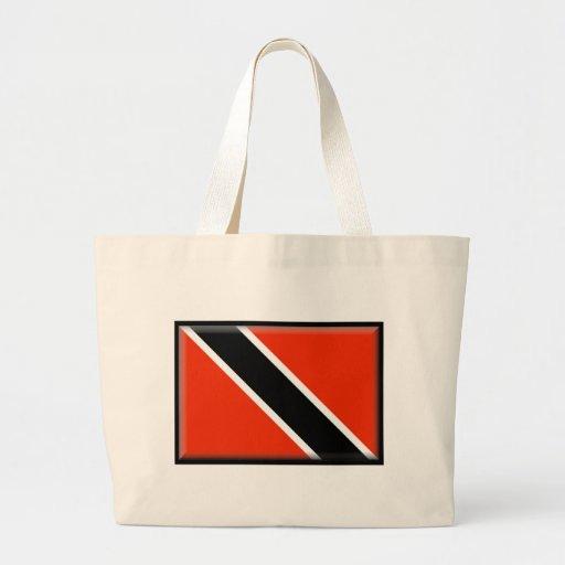 Trinidad and Tobago Flag Tote Bag