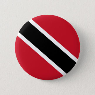 Trinidad and Tobago Flag 2 Inch Round Button