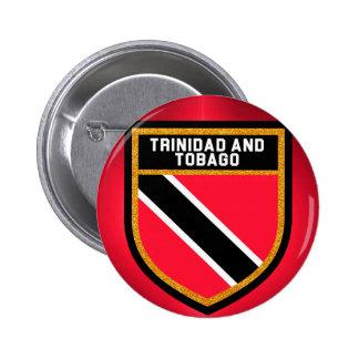 Trinidad And Tobago Flag 2 Inch Round Button