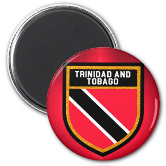 Trinidad And Tobago Flag 2 Inch Round Magnet