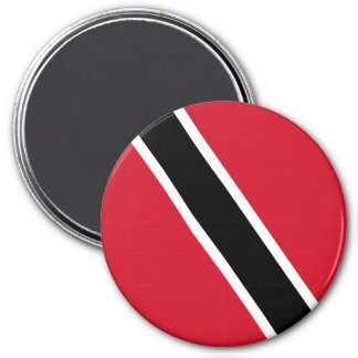 Trinidad and Tobago Flag 3 Inch Round Magnet