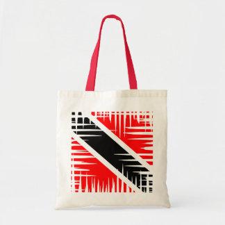 Trinidad and Tobago Flag Budget Tote Bag