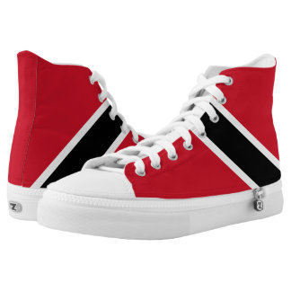 Trinidad and Tobago Flag High Tops