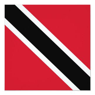 Trinidad and Tobago Flag Invitation