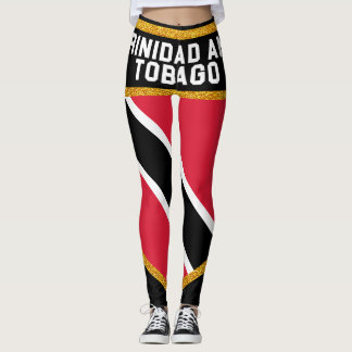 Trinidad and Tobago Flag Leggings