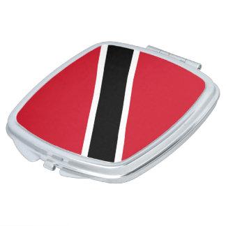 Trinidad and Tobago Flag Makeup Mirror