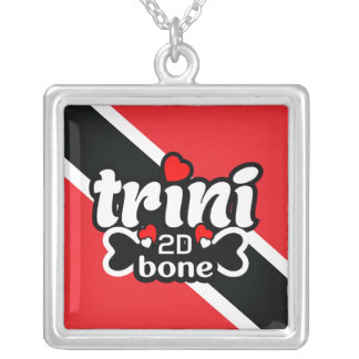 Trinidad and Tobago Flag Necklace