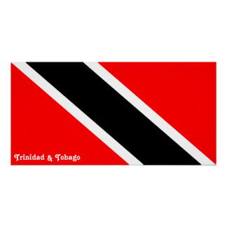 Trinidad and Tobago Flag Perfect Poster
