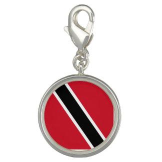 Trinidad and Tobago Flag Photo Charms