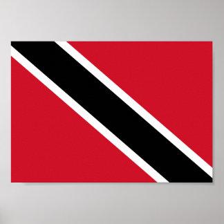Trinidad and Tobago Flag Poster
