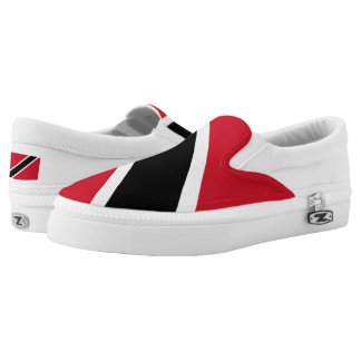 Trinidad and Tobago Flag Slip-On Sneakers