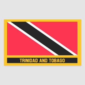 Trinidad and Tobago Flag Sticker