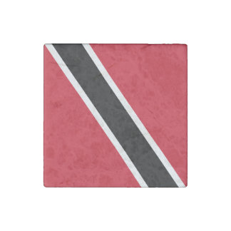 Trinidad and Tobago Flag Stone Magnets