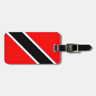 Trinidad and Tobago Flag Travel Bag Tag