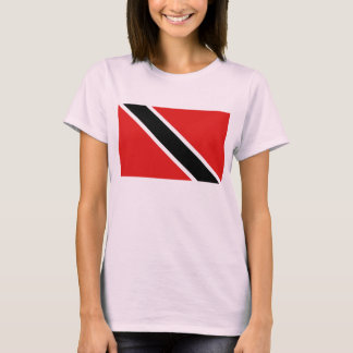 Trinidad and Tobago Flag x Map T-Shirt